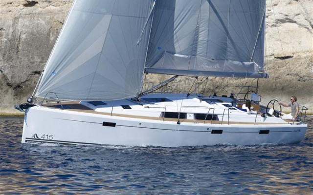 Hanse 415, take a break